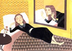 A woman beside herself by Helena Perez Garcia