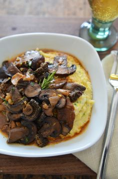 ... -polenta on Pinterest | Polenta, Polenta Recipes and Creamy Polenta