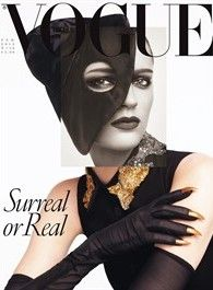 Vogue Italia can give you art in its pages... SURREAL or REAL... I say its ART