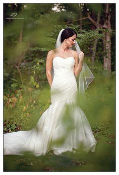 simple and beautiful bridal photo