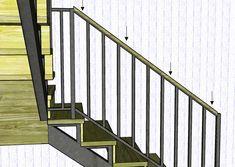 крепление перил к лестнице из металла: 14 тыс изображений найдено в Яндекс.Картинках