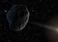 Just beyond Earth's home in the solar system, about 94 million miles from the Sun, a coal-black asteroid slowly rotates as it orbits our star. It's about 1,650 feet across, with a slight bulge around the middle, like a spinning …