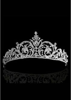 Men should propose with tiaras instead of engagement rings! Then you could be his queen and wear a tiara whenever you feel like it!!