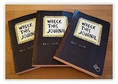 Maybe do a DIY Wreck This Journal :] or something of the sorts $8.50 at walmart
