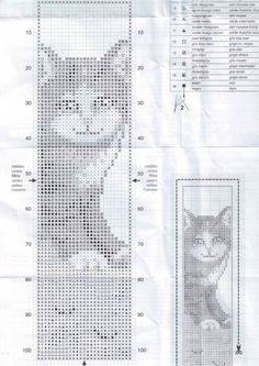 Cross stitch cat  4