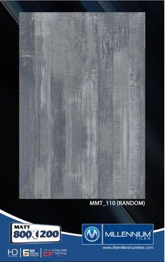 Millennium Tiles 800X1200mm Brilliante Matt Tile Series