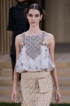 EN IMAGES. Haute couture : Chanel, splendeur au jardin
