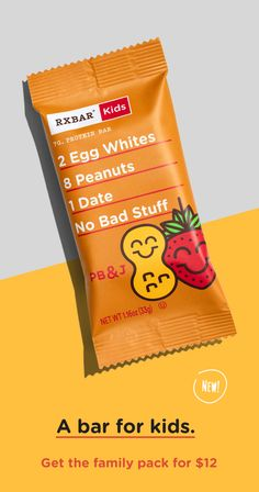 Real foods with simple ingredients and No B. RXBAR makes whole food protein bars with simple all-natural ingredients. Easy to grab and delicious protein bars perfect on the go. Vegetarian Mexican, Mexican Food Recipes, Real Food Recipes, Real Foods, Healthy Kids, Healthy Snacks, Healthy Recipes, Healthy Options, Toddler Meals