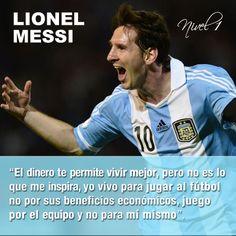 #LionelMessi #frases #futbol #Messi #Argentina