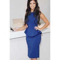 Modern stylish tight package buttocks flouncing dress YR-LC6483