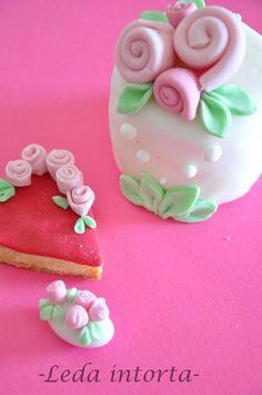 pasta di zucchero, cuore, cake design