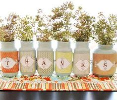 16 Thanksgiving Decorations from @AllFreeHolidayCrafts