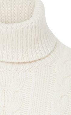 1d40b3d961b Cable-Knit Cashmere Turtleneck Sweater