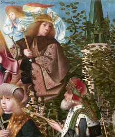 Attributed to Geertgen tot Sint Jans (ca. The Tree of Jesse, c. 1500 (detail) oil on panel, h × w Museum Boijmans Van Beuningen, Rotterdam Tree Of Jesse, Medieval Manuscript, Rotterdam, Renaissance, Dutch, Museum, Van, Detail, Antiques