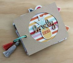 Adorable mini album perfect for summer events or days!