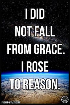 But what happened to you that made you lose your faith? :P - http://holesinthefoam.us/rosetoreason/
