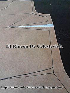 Eliminando la pinza de busto al costado en la cintura Dress Patterns, Sewing Patterns, Learn To Sew, Sewing Hacks, Womens Fashion, Fabric, Beanie, Modeling, Sewing Techniques