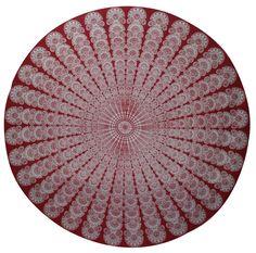 Hippie Round Mandala Peacock Happi Hippie Round Brach Towel Table Cloth Decor   #Handmade #ArtDecoStyle Mandala, Ebay, Rugs, Handmade, Home Decor, Farmhouse Rugs, Hand Made, Decoration Home, Room Decor