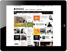 Spaces online platform by www.formlab.nl