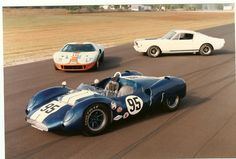 Ford GT 40, Shelby GT 350R, Shelby King Cobra