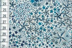 Tissu Liberty Adelajda bleu