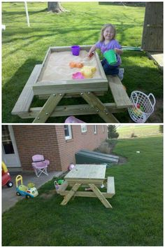 A Picnic table / sandbox http://lancaster.craigslist.org/bad/4416658644.html