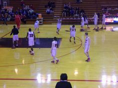 Jeff Broncho JV team up for 2nd half in a contest they would go down in
