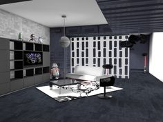 star wars living room | Star Wars Living Room | GasMask Studios Producciones Multimedia