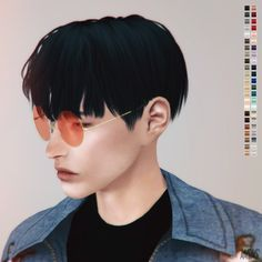 18 Best Sims 4 cc finds ( korean hair *male*) images ...Korean Toddler Hair Sims 4