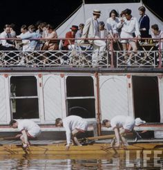 This weekend the 157th Oxford and Cambridge Boat Race will take place on the Thames, continuing the universities' storied  sporting tradition. Although nowadays the sculls are made of fiberglass  and the clothes of Coolmax, in essence the event is largely unchanged  since the days of wooden hulls an