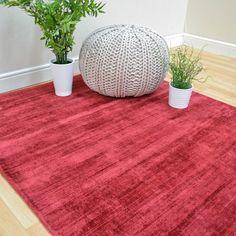 Blade plain rugs in berry buy online from the rug seller uk