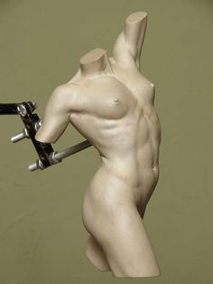 Nick Bibby Sculpture  Artemis (Female Heroic Torso) 360 degree views of the finished 10 inch clay maquette for 'Artemis'