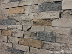 Wellington Dry Stack Quarry Gray Panel