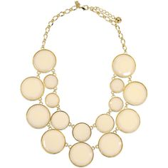 Rental kate spade new york accessories Bryce Bauble Necklace (200.515 IDR) ❤ liked on Polyvore featuring jewelry, necklaces, white, long necklace, white jewelry, bauble necklace, bauble jewelry and white bauble necklace