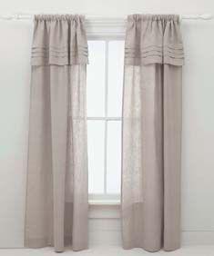 Pleated Linen Bed Skirt