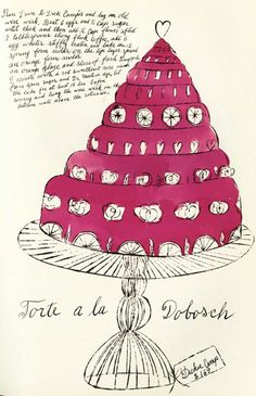 Recipes from Andy Warhol's pen