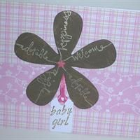 Baby, Big Flower from Callie's Cards and Crafts