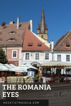 The Romania eyes: eyelid windows in the rooftops of Sibiu and other Romanian cities give the impression that someone always has their eye on you. Earth And Solar System, Visit Romania, Rooftops, Back In Time, Eastern Europe, European Travel, Milky Way, Travelling, Cities