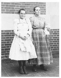 These Czech American women have just completed their registration at Ellis Island.  established with the assistance of Eleanor Roosevelt. Subsequent immigration of refugees was supported by the Displaced Persons Act of 1948, which permitted the admission of refugees of Communist countries.