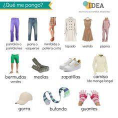 LA VESTIMENTA http://ideaspanish.wix.com/idea