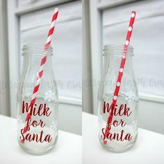 Milk for Santa Bottles