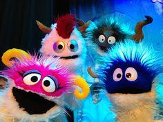 Snow Monsters from The Littlest Snow Monster - Adam Kreutinger