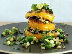 Fried Yellow Tomatoes by Whit's Amuse Bouche in @Marsha Bullard