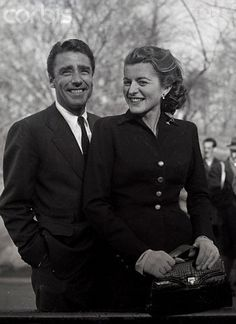 Peter Lawford and Patricia Kennedy