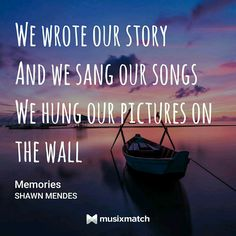 Memories --- Shawn Mendes