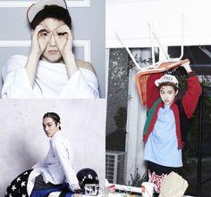 EXOs 1st set of solo teaser photos for Kai, Suho, %26 D.O.
