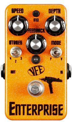 Enterprise phaser // VFE Pedals