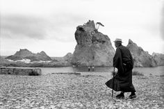 Henri Cartier-Bresson  JAPAN. Honshu. Iwate prefecture. Miyako. 1965.
