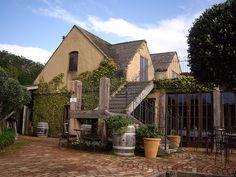 Mudbrick Vineyard Brick Houses, New Zealand North, Waiheke Island, Mud, Vineyard, Buildings, Homes, Cabin, Wine