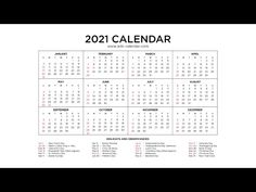 2021 Calendar, Free Printables, Periodic Table, Templates, Holiday, Periodic Table Chart, Stencils, Vacations, Free Printable